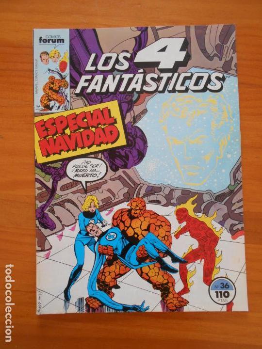 LOS 4 FANTASTICOS Nº 36 - FORUM (A1) (Tebeos y Comics - Forum - 4 Fantásticos)