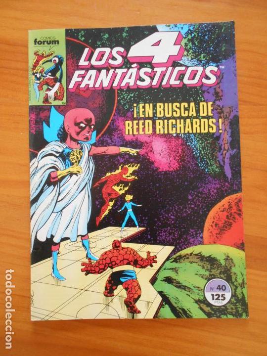 LOS 4 FANTASTICOS Nº 40 - FORUM (A1) (Tebeos y Comics - Forum - 4 Fantásticos)
