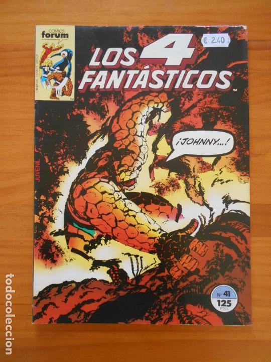 LOS 4 FANTASTICOS Nº 41 - FORUM (A1) (Tebeos y Comics - Forum - 4 Fantásticos)