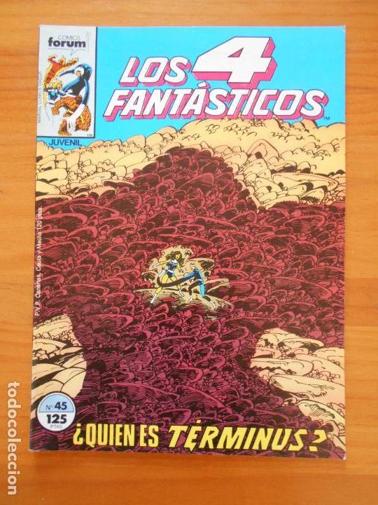 LOS 4 FANTASTICOS Nº 45 - FORUM (A1) (Tebeos y Comics - Forum - 4 Fantásticos)