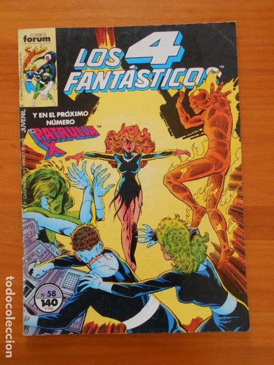 LOS 4 FANTASTICOS Nº 58 - FORUM (A1) (Tebeos y Comics - Forum - 4 Fantásticos)