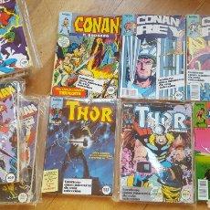 Cómics: LOTE 17 RETAPADOS THOR, CONAN, SPIDERMAN VENGADORES... Lote 146106025