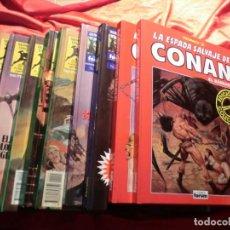 Cómics: LOTE DE LA ESPADA SALVAJE DE CONAN DIFERENTES EDITORIALES. Lote 146156506