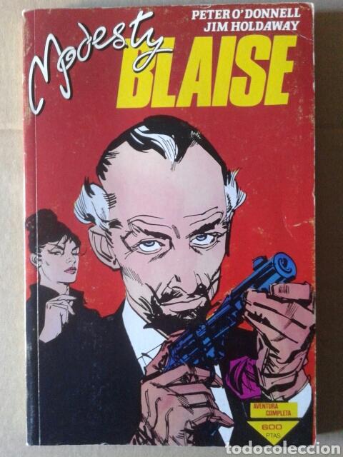 RETAPADO MODESTY BLAISE: OBRA COMPLETA -NÚMEROS 1-2-3-4-5-6-7 (COMICS FORUM, 1988-1989). (Tebeos y Comics - Forum - Retapados)