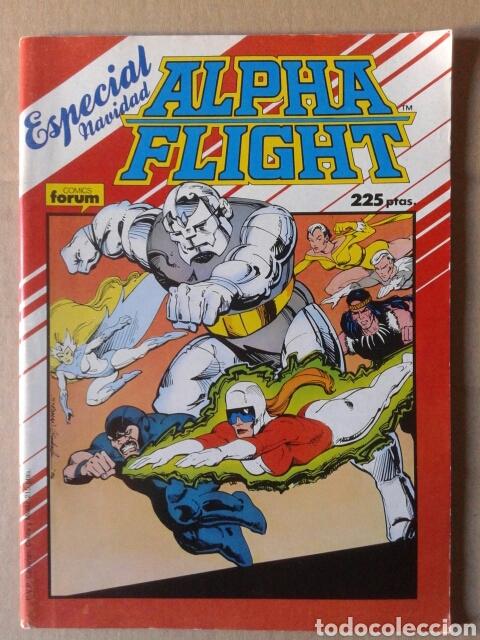 ALPHA FLIGHT ESPECIAL NAVIDAD (COMICS FORUM, 1987) 68 PÁGINAS A COLOR. PÓSTER DE CARLOS PACHECO. (Tebeos y Comics - Forum - Alpha Flight)