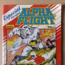 Cómics: ALPHA FLIGHT ESPECIAL NAVIDAD (COMICS FORUM, 1987) 68 PÁGINAS A COLOR. PÓSTER DE CARLOS PACHECO.. Lote 146372442