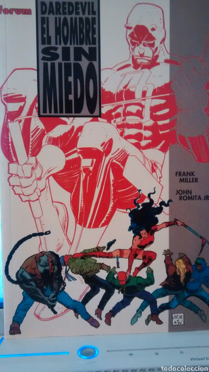 EL HOMBRE SIN MIEDO. DAREDEVIL DE FRANK MILLER Y JOHN ROMITA JR (FORUM) (Tebeos y Comics - Forum - Daredevil)