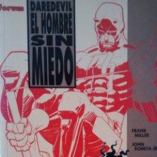 Cómics: EL HOMBRE SIN MIEDO. DAREDEVIL DE FRANK MILLER Y JOHN ROMITA JR (FORUM). Lote 146430854