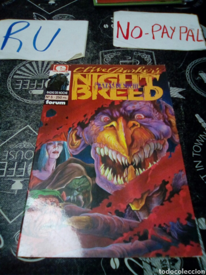 Cómics: Night breed razas de noche 5 forum - Foto 1 - 146458388