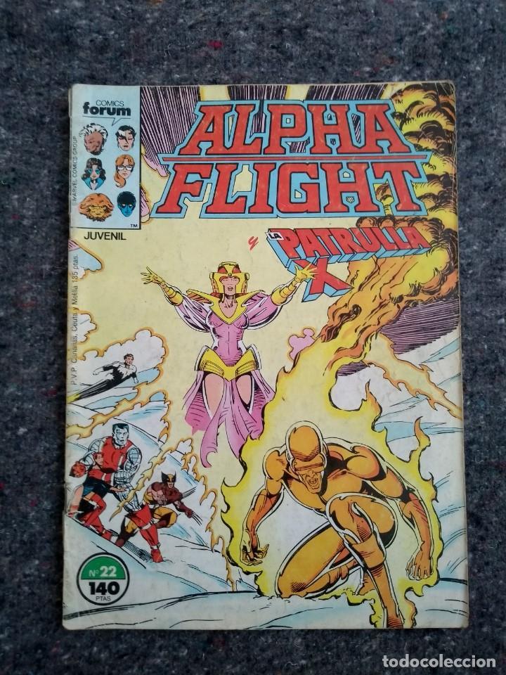 ALPHA FLIGHT Y LA PATRULLA X Nº 22 - EL REGALO (Tebeos y Comics - Forum - Alpha Flight)