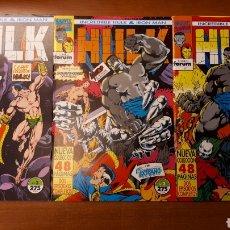 Cómics: HULK & IRON MAN 1 AL 9, COMPLETA - P. DAVID·D.KEOWN + HULK INVIERNO 94, PRIMAVERA 95 Y ESPECIAL 98. Lote 146537862