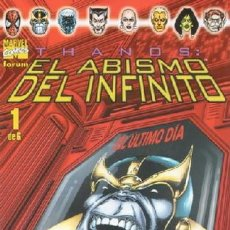 Cómics: THANOS. EL ABISMO DEL INFINITO EDITORIAL PLANETA-DEAGOSTINI COMPLETA 6 Nº.. Lote 146543538
