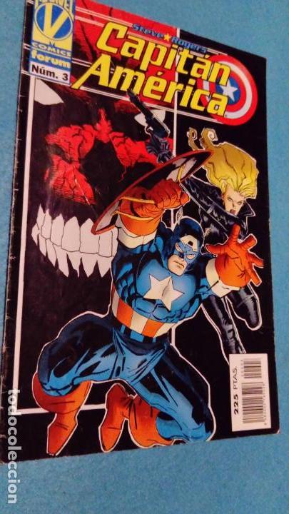 CAPITÁN AMÉRICA VOL. 3 Nº 3 STEVE ROGERS (VOLUMEN III) FORUM (Tebeos y Comics - Forum - Capitán América)