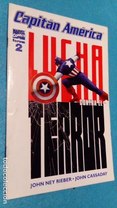 CAPITAN AMÉRICA LUCHA CONTRA EL TERROR VOL. V Nº 2. MARVEL COMICS. FORUM (Tebeos y Comics - Forum - Capitán América)