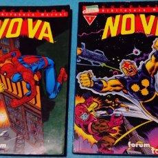 Cómics: NOVA Nº 1 Y 2 - BIBLIOTECA MARVEL - FORUM . Lote 146587406