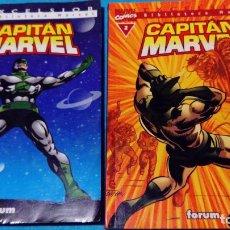 Cómics: MARVEL COMICS: EXCELSIOR FORUM CAPITÁN MARVEL Nº 1 Y 2. Lote 146587554