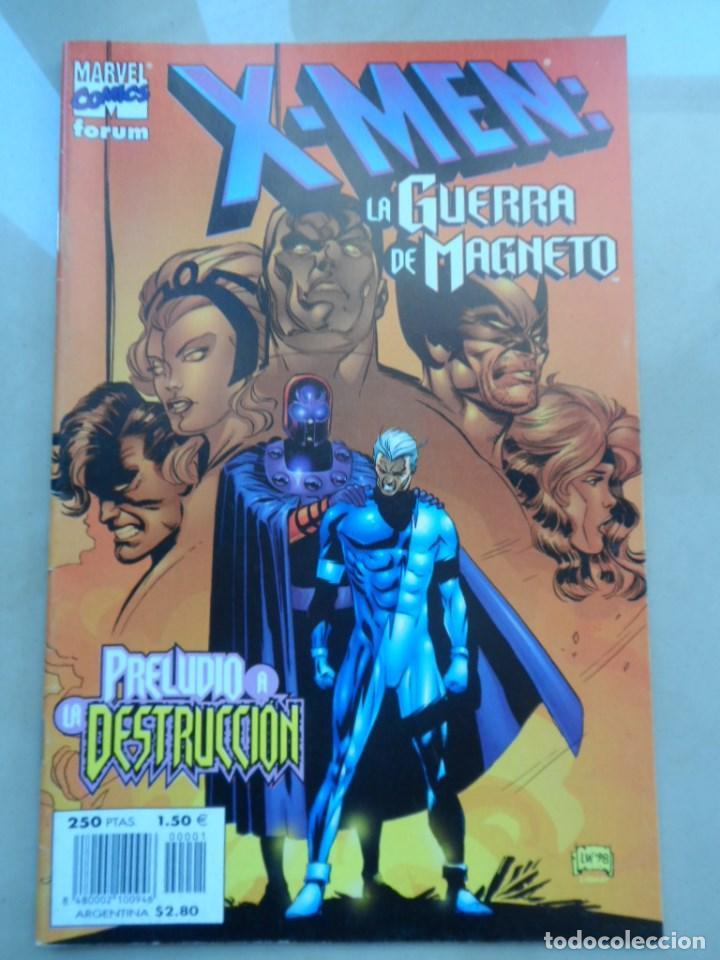 X-MEN: LA GUERRA DE MAGNETO - FORUM - POSIBLE ENVÍO GRATIS - MUY BUEN ESTADO (Tebeos y Comics - Forum - X-Men)