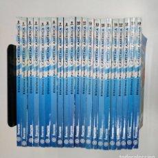 Cómics: BIBLIOTECA MARVEL: CAPITÁN AMÉRICA. - COLECCIÓN COMPLETA 21 NÚMEROS. Nº 0 AL 20. TDK358. Lote 146632690