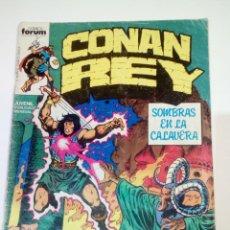 Cómics: CONAN REY 4 - FORUM. Lote 146672582