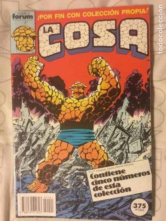 LA COSA 1-15 (Tebeos y Comics - Forum - 4 Fantásticos)