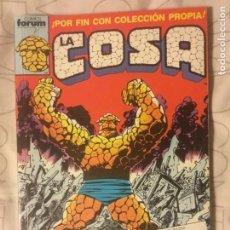 Cómics: LA COSA 1-15. Lote 146681982
