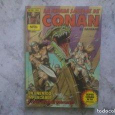 Cómics: LA ESPADA SALVAJE DE CONAN. SERIE ORO. 1º EDICIÓN, 1982.. Lote 146729542