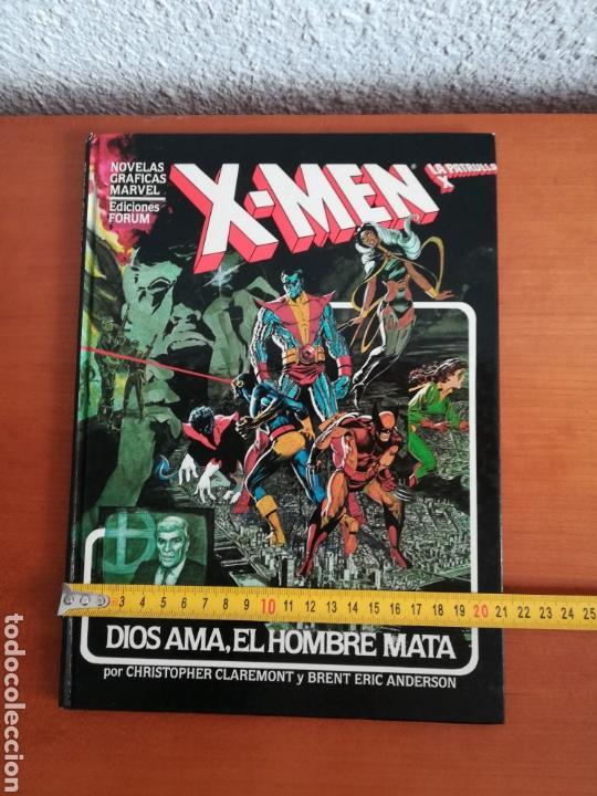 Cómics: X-men La Patrulla X Dios ama, el hombre mata - Forum año 1983 - Primera edición - Mutantes Marvel - Foto 29 - 146753396