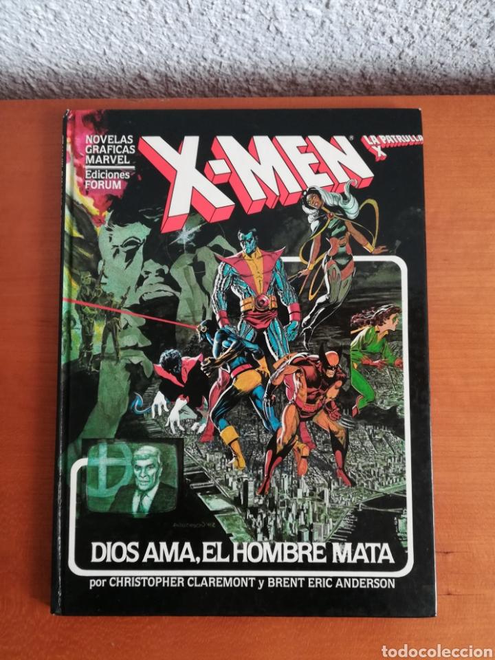 X-MEN LA PATRULLA X DIOS AMA, EL HOMBRE MATA - FORUM AÑO 1983 - PRIMERA EDICIÓN - MUTANTES MARVEL (Tebeos y Comics - Forum - X-Men)