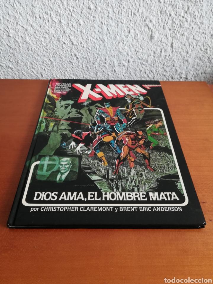 Cómics: X-men La Patrulla X Dios ama, el hombre mata - Forum año 1983 - Primera edición - Mutantes Marvel - Foto 2 - 146753396