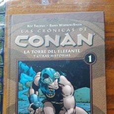 Cómics: LAS CRÓNICAS DE CONAN TOMO Nº 1. Lote 146803830