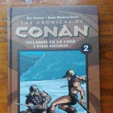 Cómics: LAS CRÓNICAS DE CONAN TOMO Nº 2. Lote 146804166