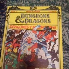 Cómics: DRAGONES Y MAZMORRAS N 3 - EN BUSCA DEL AMO DEL CALABOZO . Lote 146812386