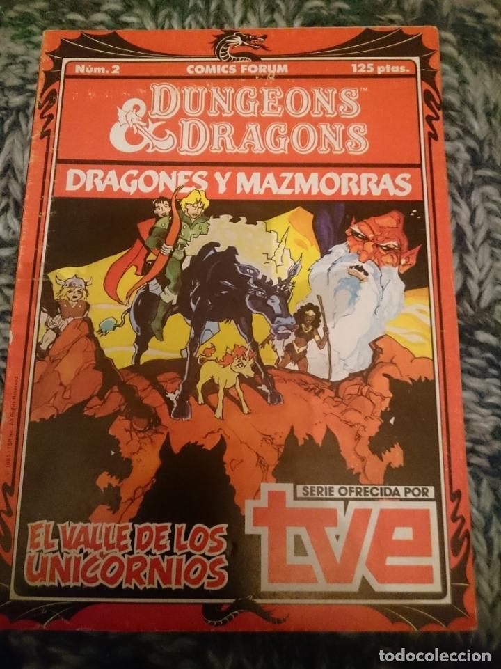DRAGONES Y MAZMORRAS N 2 - EL VALLE DE LOS UNICORNIOS (Tebeos y Comics - Forum - Otros Forum)