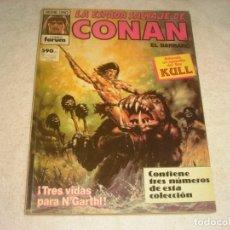Cómics: LA ESPADA SALVAJE DE CONAN, FORUM , TRES NUMEROS ,SERIE ORO. Lote 146849282