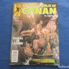Fumetti: LA ESPADA SALVAJE DE CONAN EL BÁRBARO N.º 21 PRIMERA EDICIÓN - SERIE ORO PLANETA 1983 - BRO. Lote 146861238