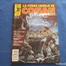 Fumetti: LA ESPADA SALVAJE DE CONAN EL BÁRBARO N.º 22 PRIMERA EDICIÓN - SERIE ORO PLANETA 1984 - BRO. Lote 146861962