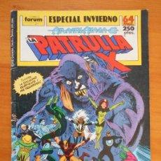 Cómics: LA PATRULLA X - ESPECIAL INVIERNO - ATLANTIS ATACA - FORUM (AN). Lote 146871394