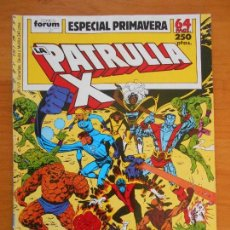 Cómics: LA PATRULLA X - ESPECIAL PRIMAVERA - 1989- FORUM (AN). Lote 146871702