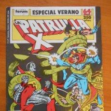 Cómics: LA PATRULLA X - ESPECIAL VERANO - 1989- FORUM (AN). Lote 146871962