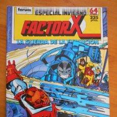 Cómics: FACTOR X - ESPECIAL INVIERNO - 1988 - LA GUERRA DE LA EVOLUCION - FORUM (AN). Lote 146872658
