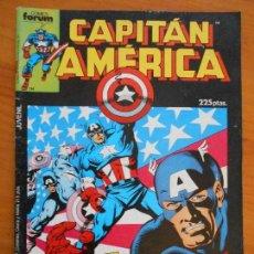 Cómics: CAPITAN AMERICA - ESPECIAL VERANO - 1987 - INCLUYE POSTER - FORUM (AN). Lote 146873386