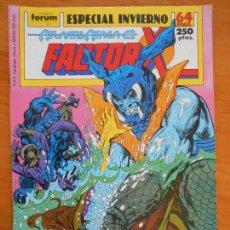 Cómics: FACTOR X - ESPECIAL INVIERNO - ATLANTIS ATACA - FORUM (AK). Lote 146875970