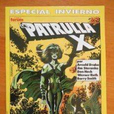 Cómics: LA PATRULLA X - ESPECIAL INVIERNO - 1990 - FORUM (AK). Lote 146876178