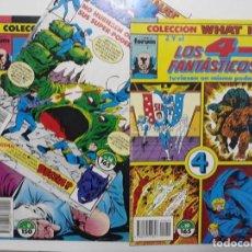 Cómics: WHAT IF. 9, 14 Y 19. COMICS FORUM. VOL 1. Lote 146926290