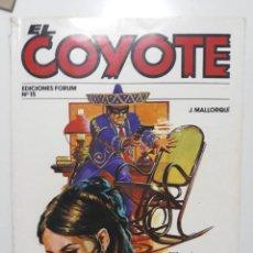 Cómics: NOVELA EL COYOTE Nº 15. EDICIONES FORUM. 1983. Lote 146937506