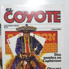 Cómics: NOVELA EL COYOTE Nº 19. EDICIONES FORUM. 1983. Lote 146937602