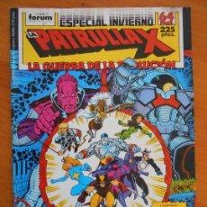 Cómics: LA PATRULLA X - ESPECIAL INVIERNO - 1988 - LA GUERRA DE LA EVOLUCION - FORUM (AI). Lote 146990486