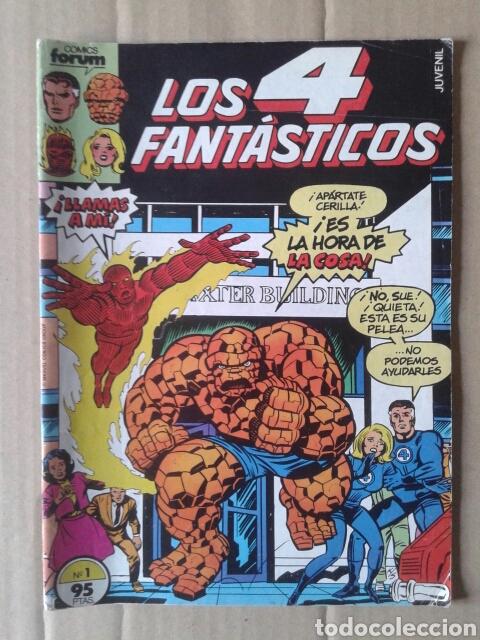 LOS 4 FANTASTICOS N° 1 (COMICS FORUM, 1983). 40 PÁGINAS A COLOR. POR WOLFMAN, POLLARD Y BUSCEMA. (Tebeos y Comics - Forum - 4 Fantásticos)