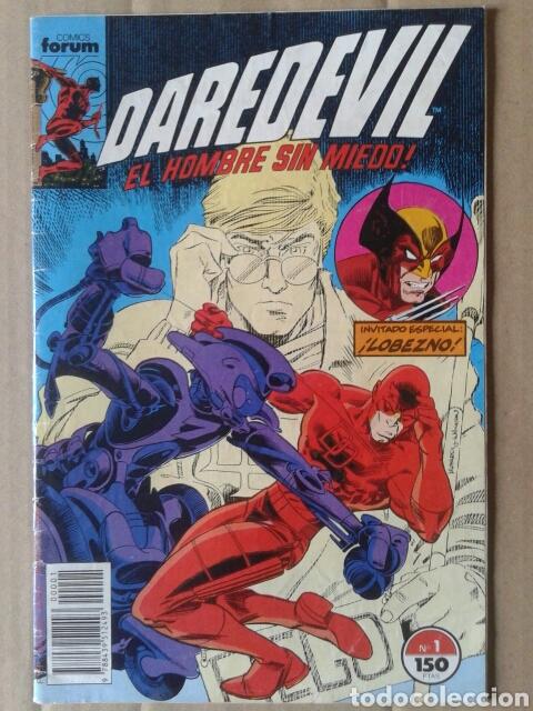 DAREDEVIL EL HOMBRE SIN MIEDO N°1 (COMICS FORUM, 1989). 36 PÁGINAS A COLOR POR NOCENTI Y LEONARDI. (Tebeos y Comics - Forum - Daredevil)