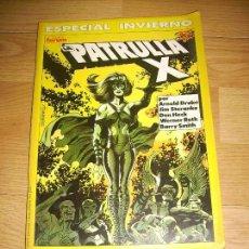 Cómics: LA PATRULLA X ESPECIAL INVIERNO. Lote 147035922